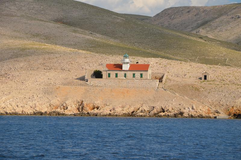 Mooie Adriatische Overzees in de Zomer van 2015 stock afbeelding