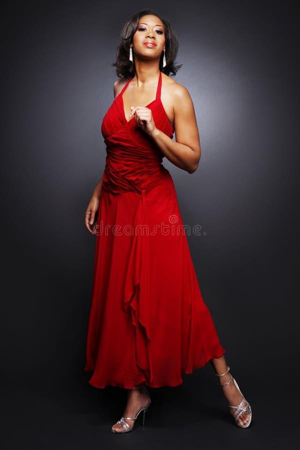 Mooie Afrikaans-Amerikaan girl.2. royalty-vrije stock afbeeldingen