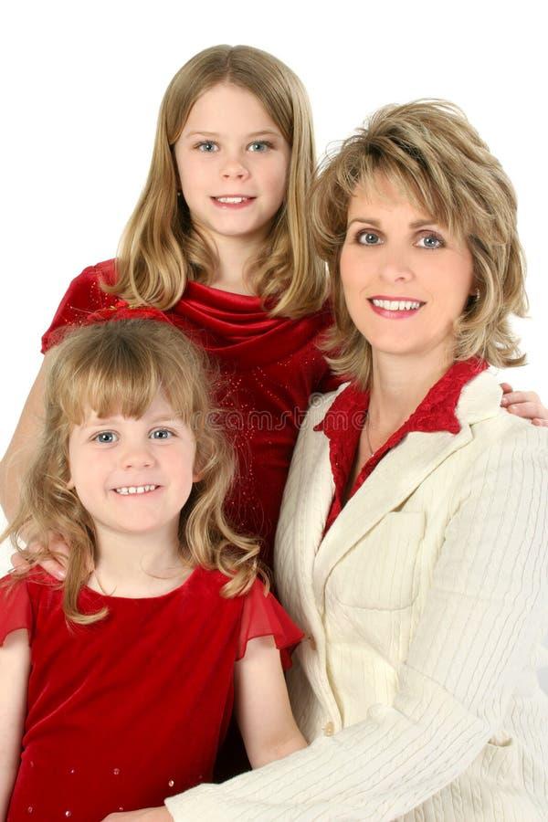 Mooie Amerikaanse Familie royalty-vrije stock fotografie