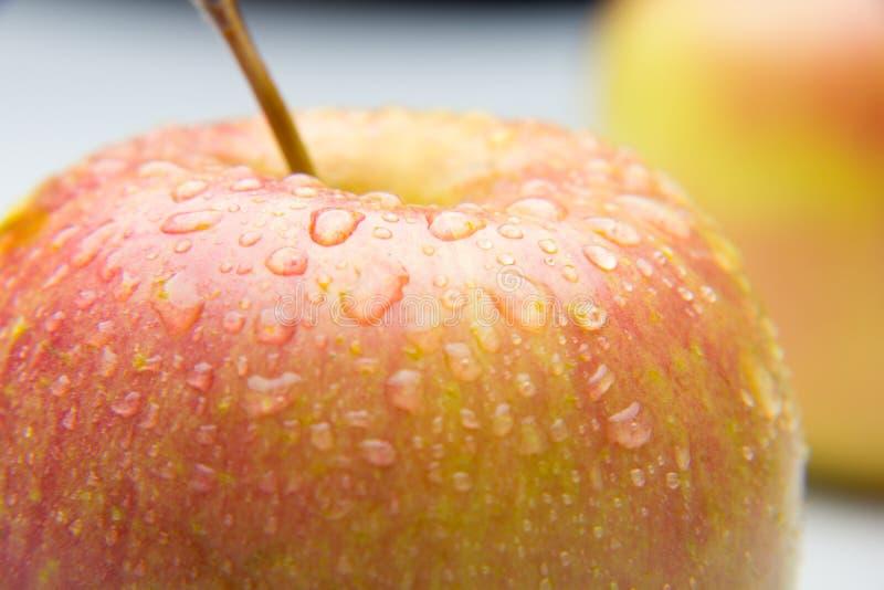 Mooie appel, gezond, vers en gezond royalty-vrije stock afbeelding