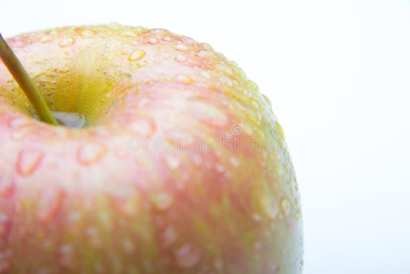 Mooie appel, gezond, vers en gezond royalty-vrije stock afbeeldingen
