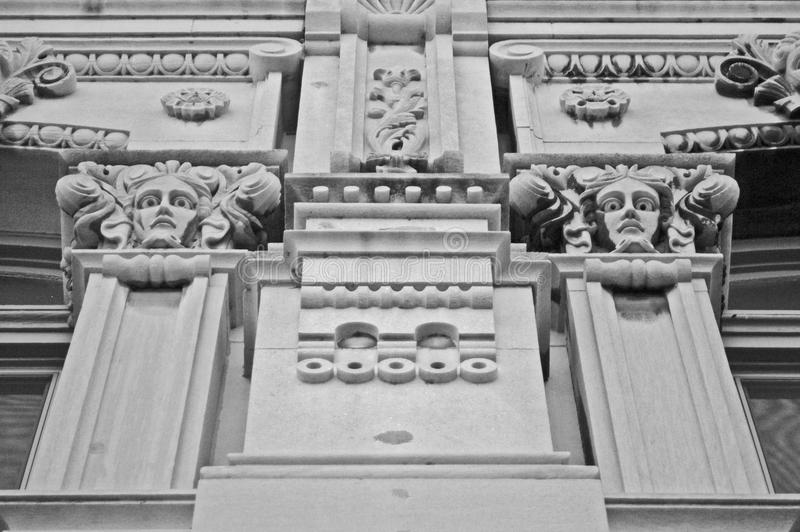 Mooie architectuur stock afbeeldingen