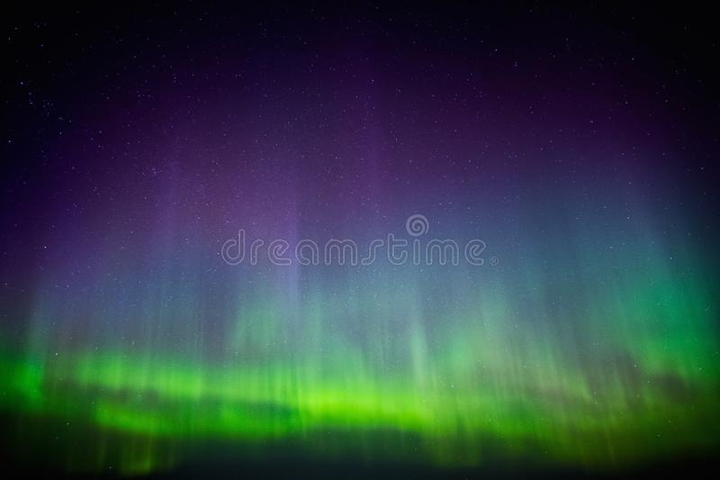 Mooie Aurora Borealis royalty-vrije stock fotografie