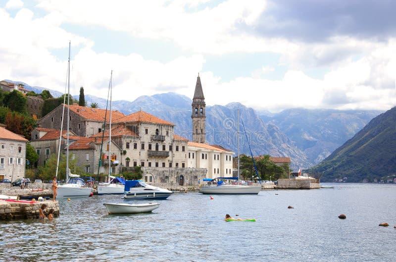 Mooie baai Montenegro stock afbeeldingen