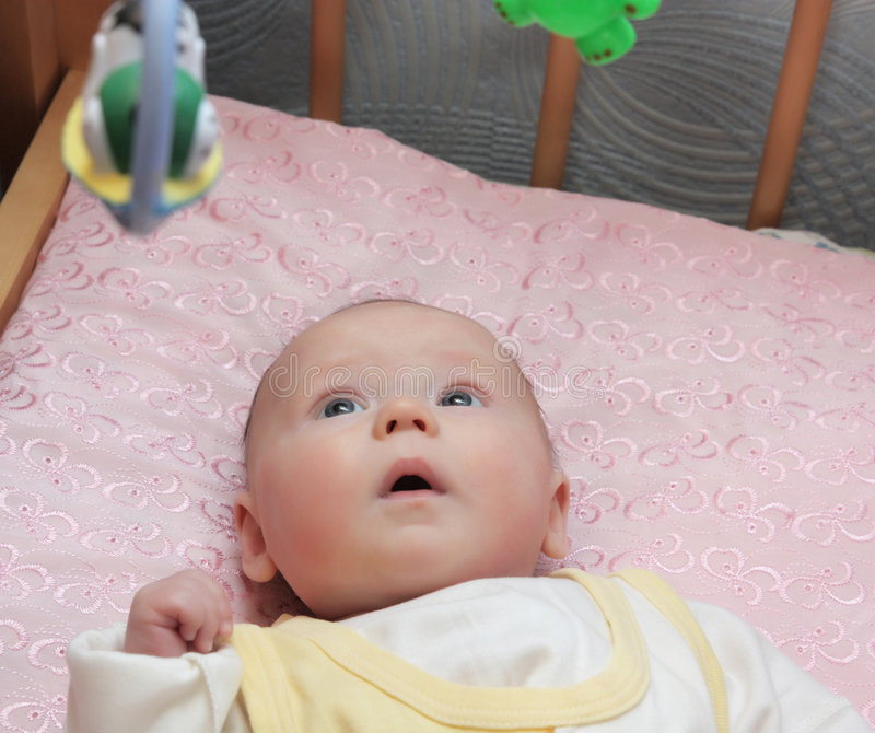 Mooie baby stock foto