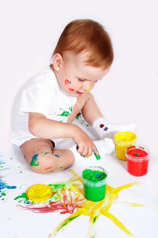 Mooie Babyverf Stock Afbeelding
