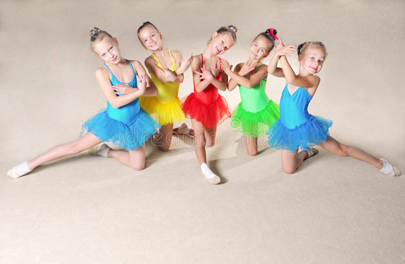 Mooie balletdansers stock afbeelding