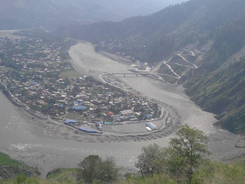 Mooie beelden van de vallei van Kashmir stock foto