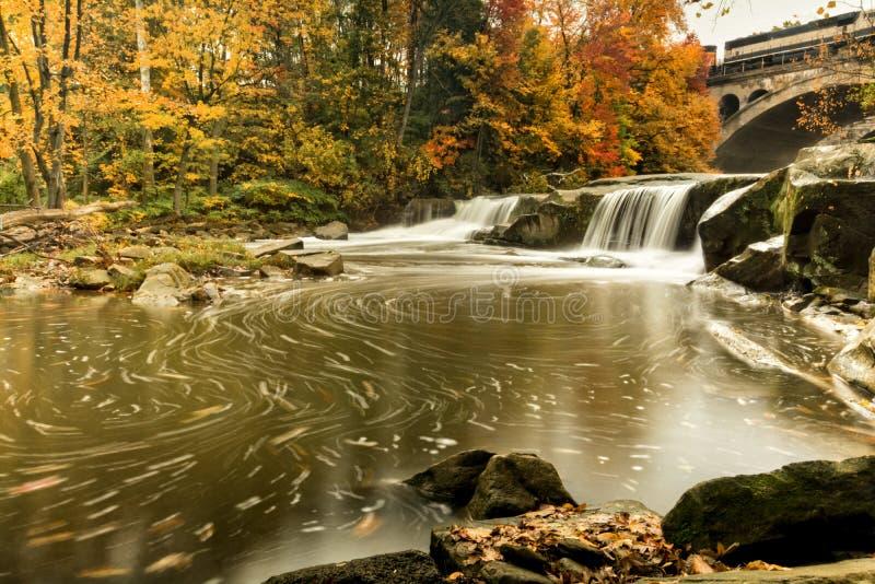 Mooie Berea-Dalingen in de Herfst stock afbeelding