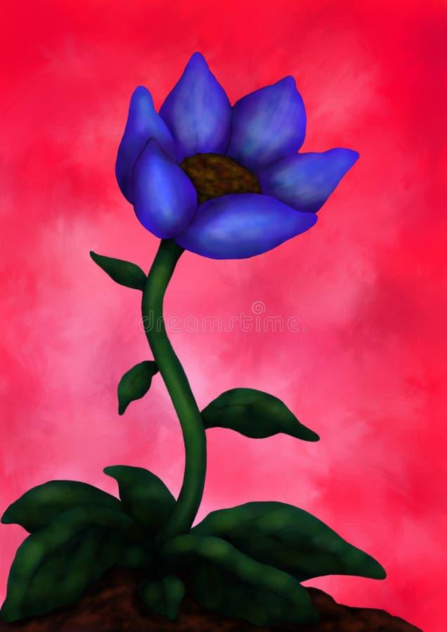 Mooie Bloem 1 (Flower power, 2016) vector illustratie