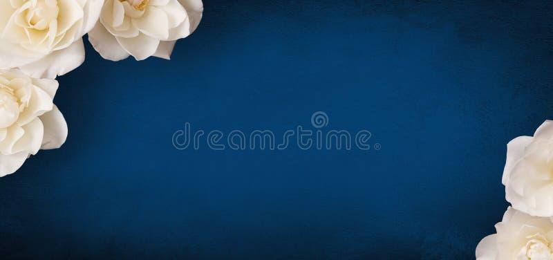 Mooie Bloemachtergrond met exemplaarruimte voor tekst royalty-vrije stock afbeelding