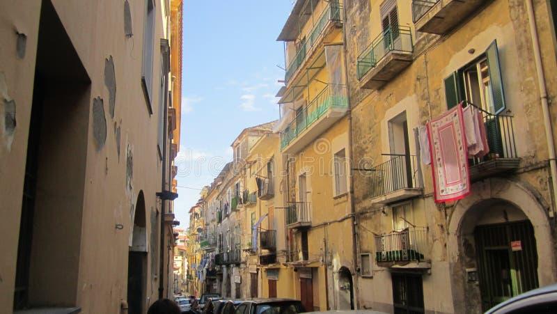 Mooie blokken in Italië royalty-vrije stock afbeeldingen