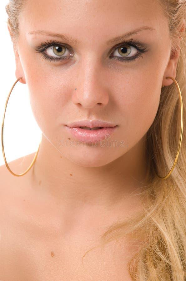 Mooie blond royalty-vrije stock afbeeldingen