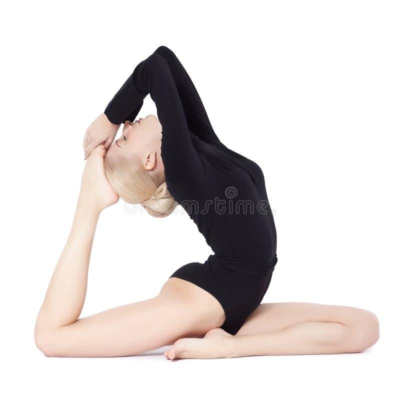 Download Mooie blondeturner stock afbeelding. Afbeelding bestaande uit aantrekkelijk - 29513671