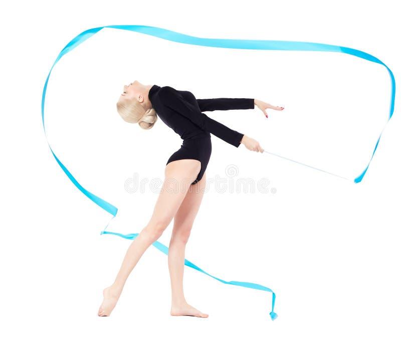 Download Mooie blondeturner stock foto. Afbeelding bestaande uit lichaam - 29513754