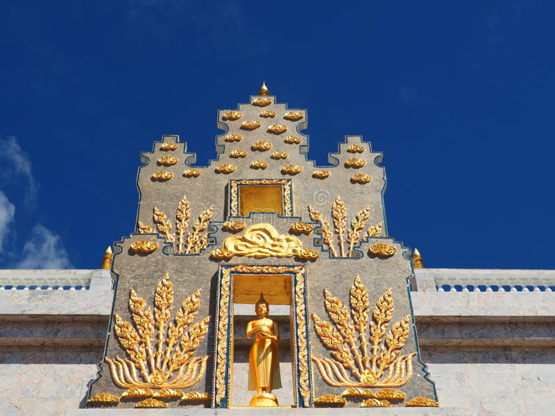 Mooie boeddhistische tempel Wat Promrangsi stock foto's