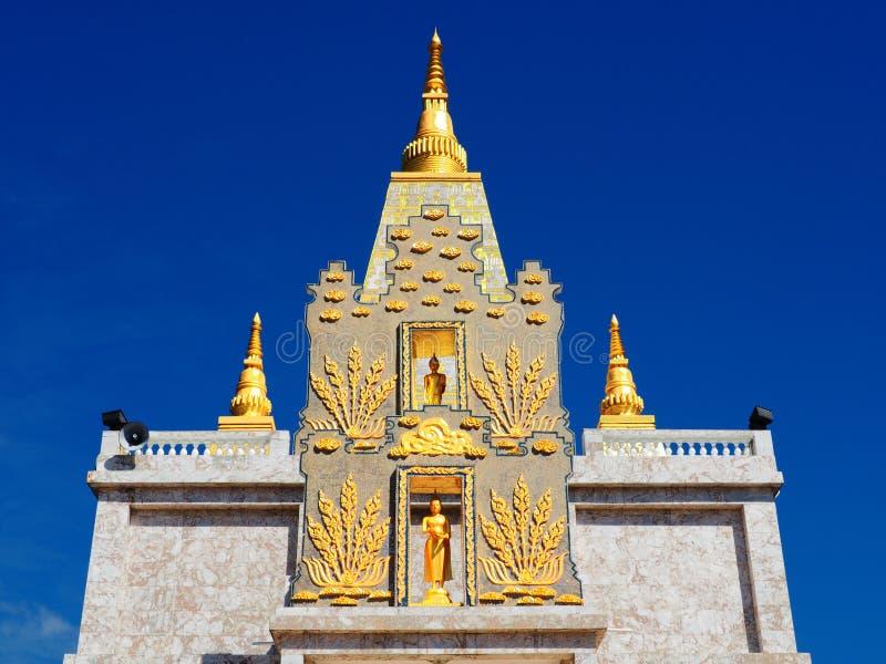 Mooie boeddhistische tempel Wat Promrangsi royalty-vrije stock foto's