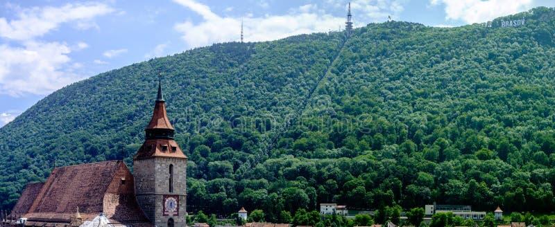Mooie Brasov Roemenië stock afbeeldingen