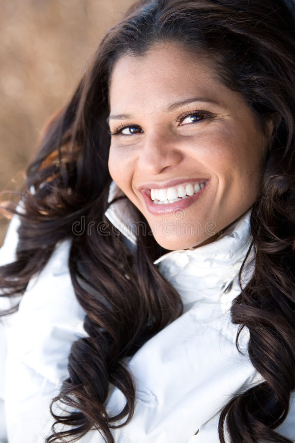 Mooie Braziliaanse vrouw royalty-vrije stock afbeeldingen