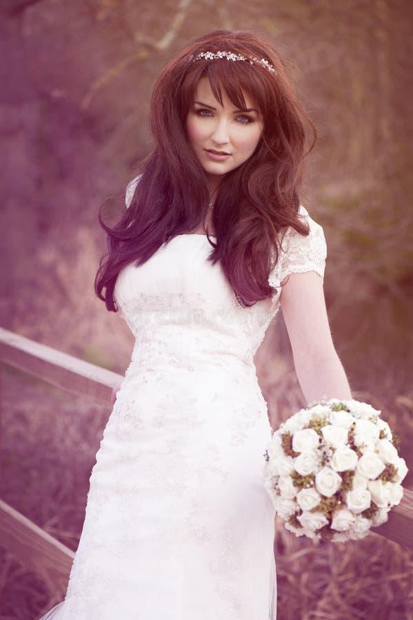 Mooie bruid royalty-vrije stock foto's