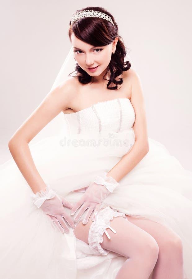 Mooie bruid stock afbeeldingen