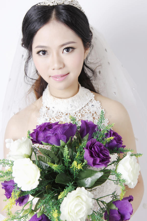 Mooie bruid 2 stock fotografie