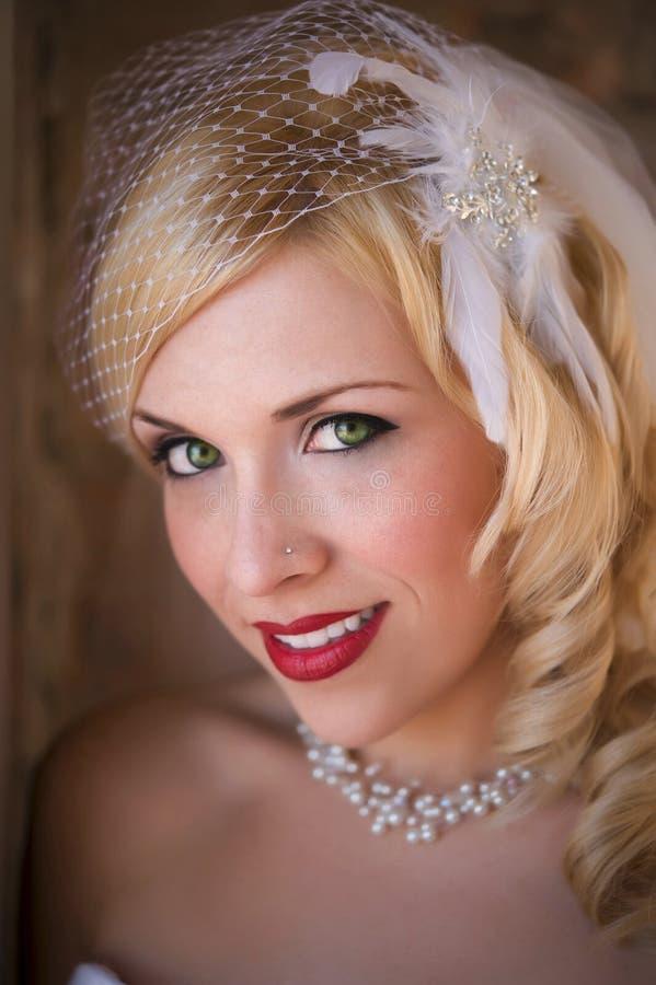 Mooie bruid royalty-vrije stock foto