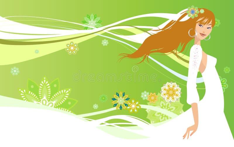 Mooie Bruid vector illustratie