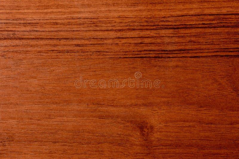 Mooie bruine houten achtergrond op gelakt geweven triplex stock fotografie