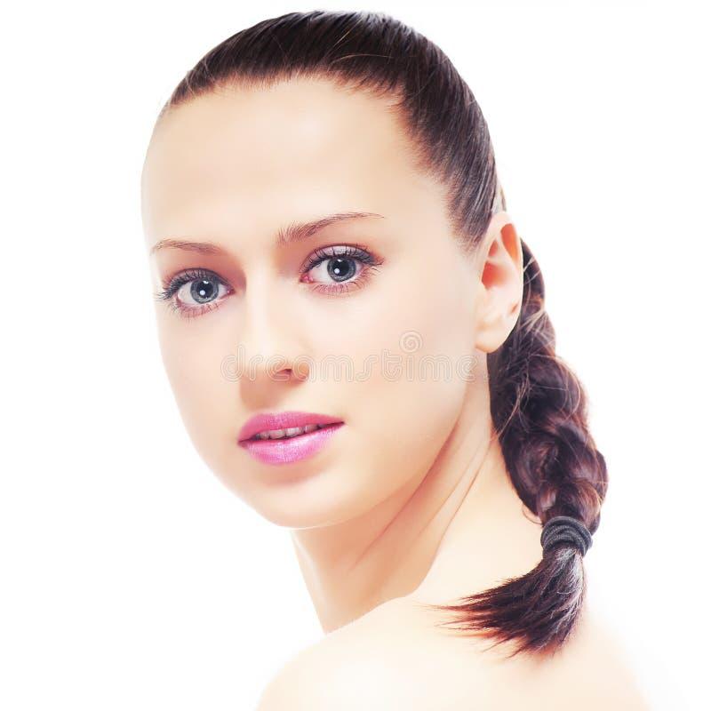 Download Mooie brunette stock foto. Afbeelding bestaande uit close - 29505806