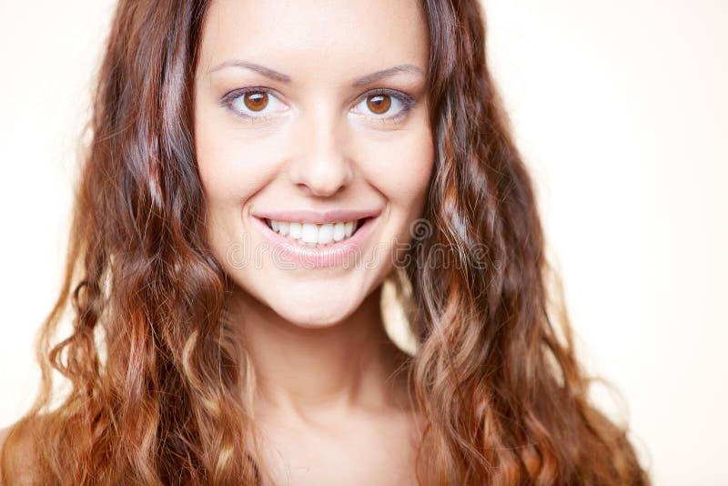 Mooie brunette stock afbeeldingen