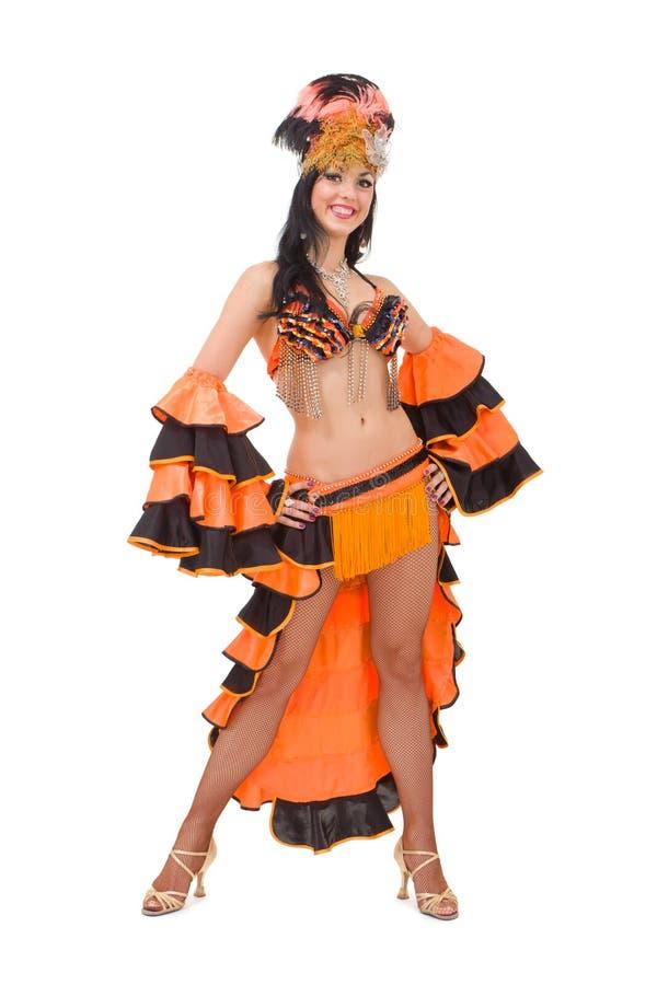 Mooie Carnaval danser stock afbeelding