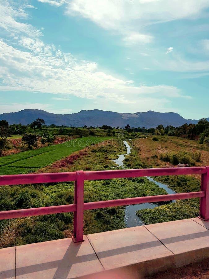 Mooie dagen in Pueblo Nuevo stock foto's
