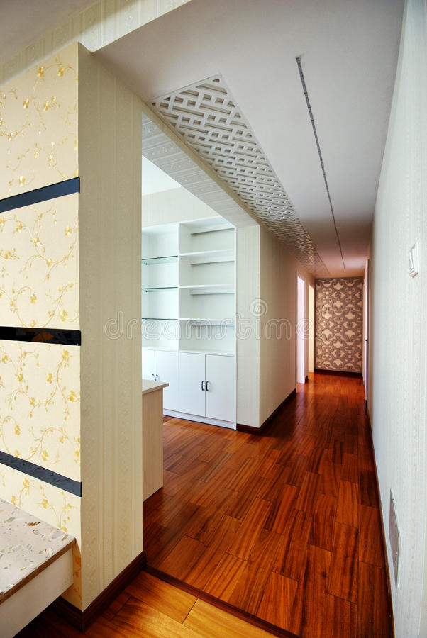 Mooie en comfortabele verfraaide ruimten stock fotografie