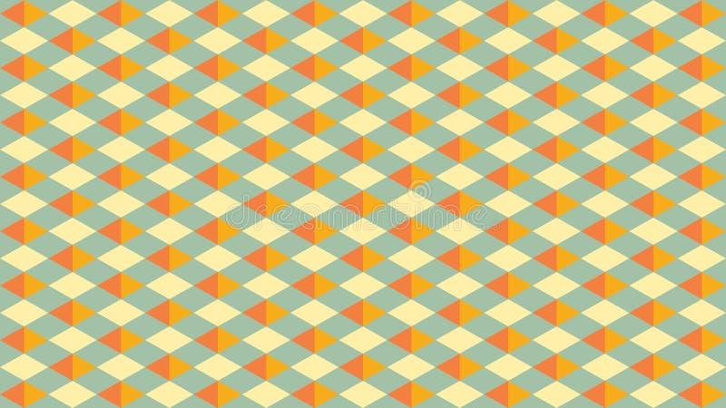 Mooie en Elegante Vector Geometrische Patroonachtergrond royalty-vrije stock fotografie