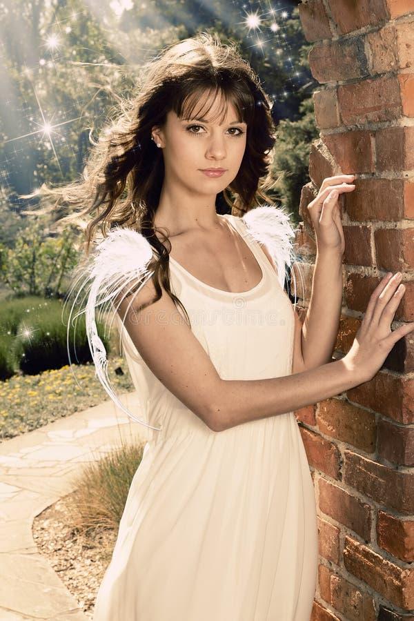 Mooie engel royalty-vrije stock afbeelding