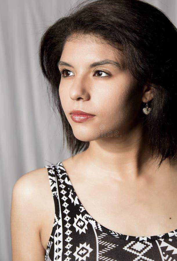 Mooie etnische vrouw stock fotografie