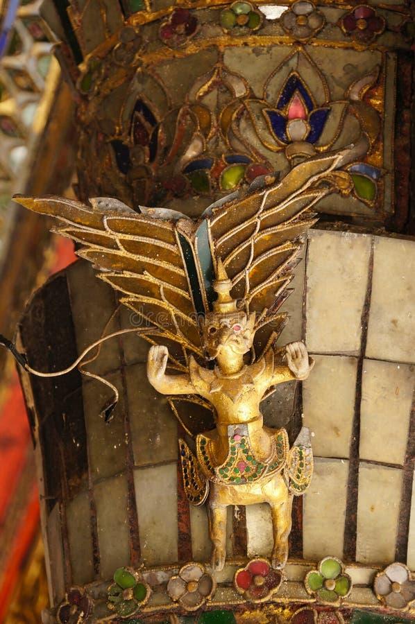 Mooie garuda van Wat Phra Kaew Don Tao, Lampang, Thailand stock afbeeldingen