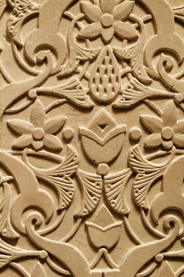 Mooie gesneden steentextuur royalty-vrije stock fotografie
