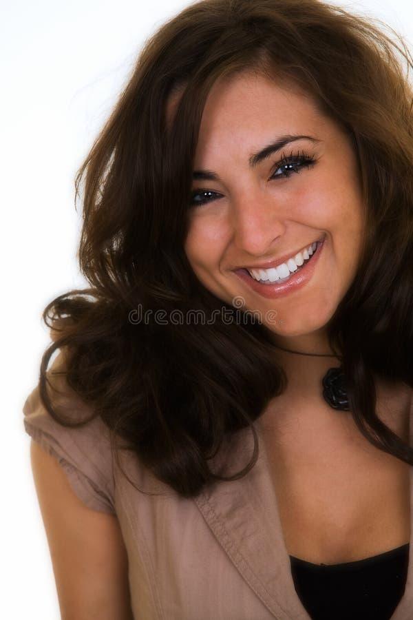 Mooie glimlach stock fotografie