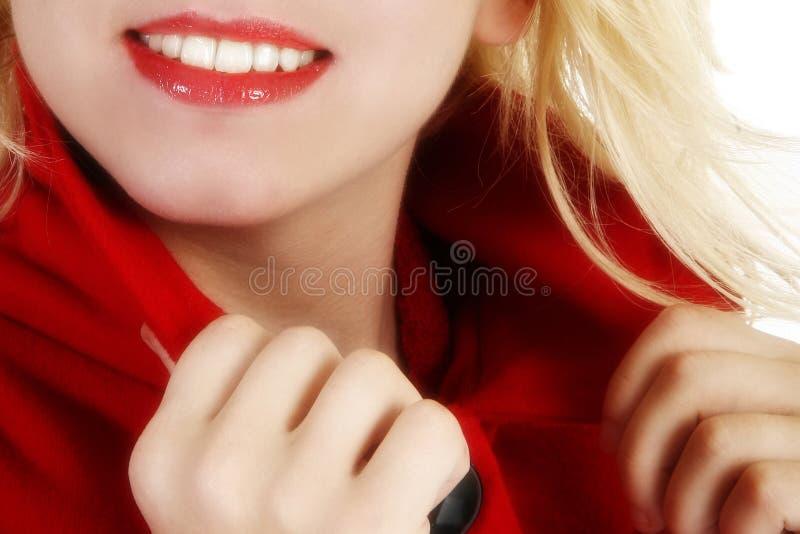 Mooie Glimlach royalty-vrije stock afbeeldingen