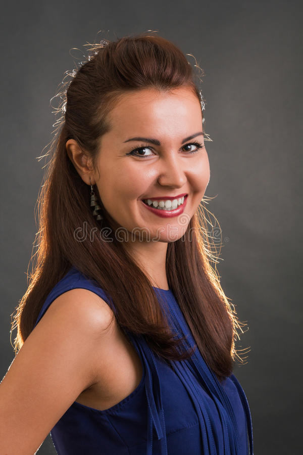 Download Mooie glimlach stock foto. Afbeelding bestaande uit toevallig - 54079474