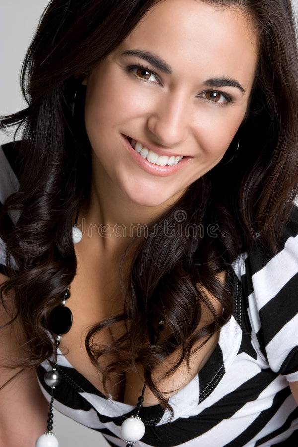 Mooie Glimlach royalty-vrije stock fotografie