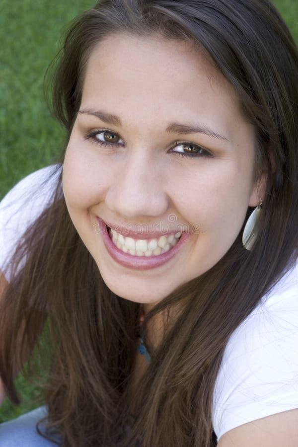 Mooie Glimlach stock afbeeldingen