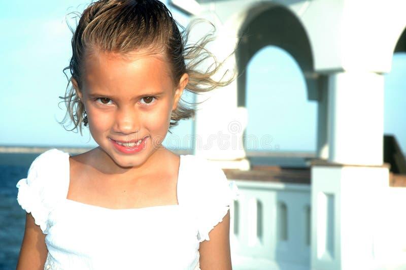 Mooie glimlach Childs stock afbeelding