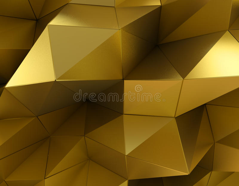Mooie gouden abstracte achtergrond royalty-vrije illustratie