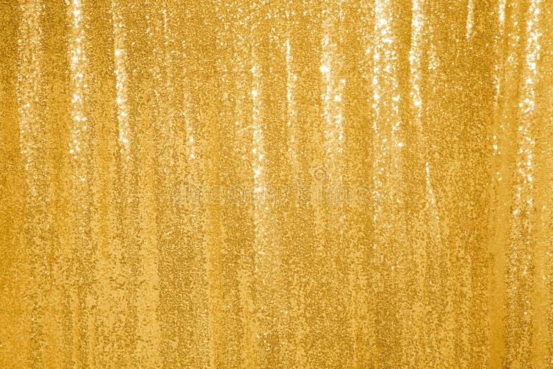 Mooie gouden schittert achtergrond royalty-vrije stock foto