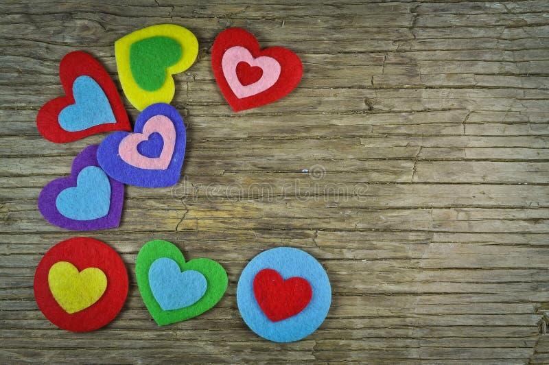 Mooie harten stock foto