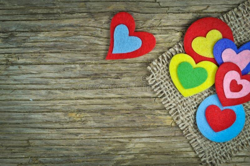 Mooie harten stock afbeelding