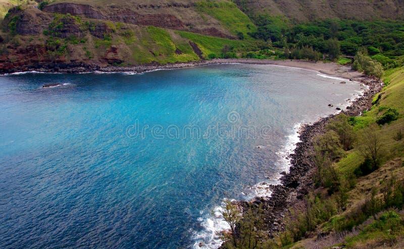 Mooie Hawaiiaanse kust royalty-vrije stock foto
